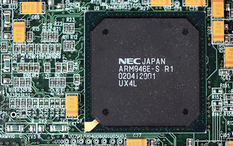 Arm holdings' founder has issued a warning on China's microchip capabilities - © 2011 Bloomberg Finance LP