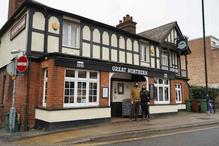 The British Beer and Pub Association says the UK has lost about 2,000 of its 50,000 watering holes over the past year
