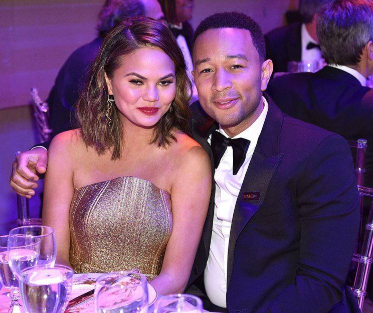 Chrissy Teigen and John Legend attend 2017 Time 100 Gala at Jazz at Lincoln Center