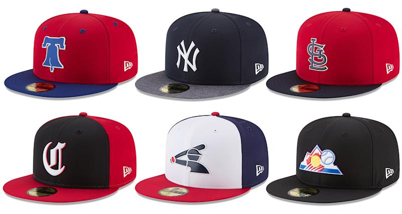 50ae351b7ba MLB and New Era unveil new lightweight spring training caps