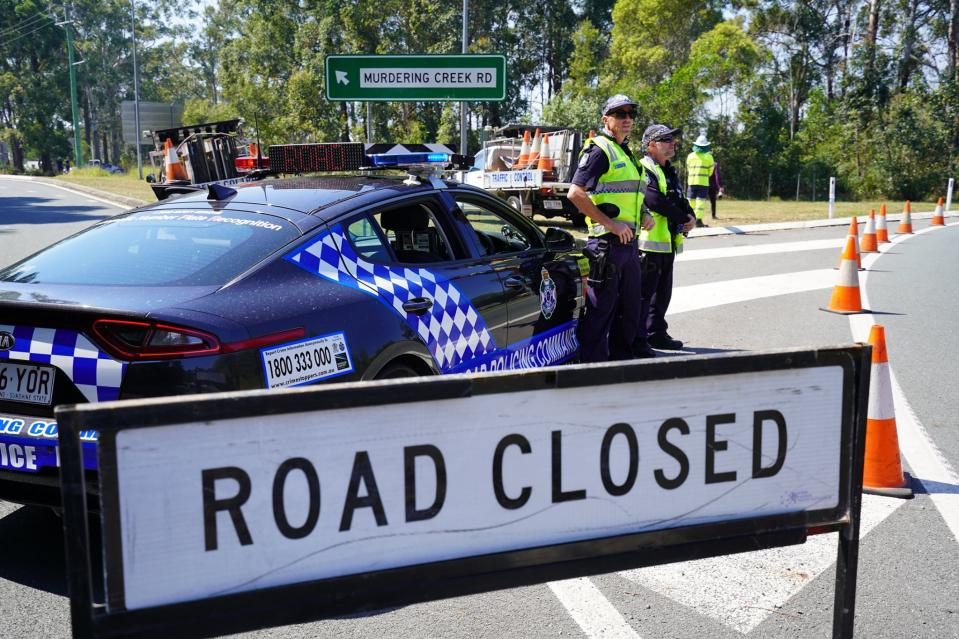 After Wednesday midnight, Queensland police will be ensuring no one enters the state unless absolutely essential. Source: Queensland Police Service