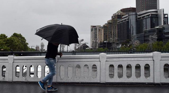 Parts of Victoria are set to receive up to three times their monthly rainfall in as many days. Photo: AAP