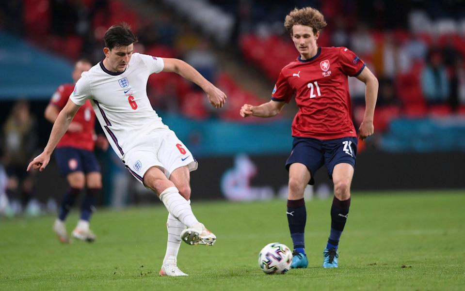 Harry Maguire - Harry Maguire the pass master allows England freedom to roam - GETTY IMAGES