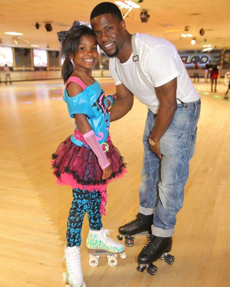 Kevin Hart's daughter, Heaven, will always be his little girl. (Photo: Instagram)