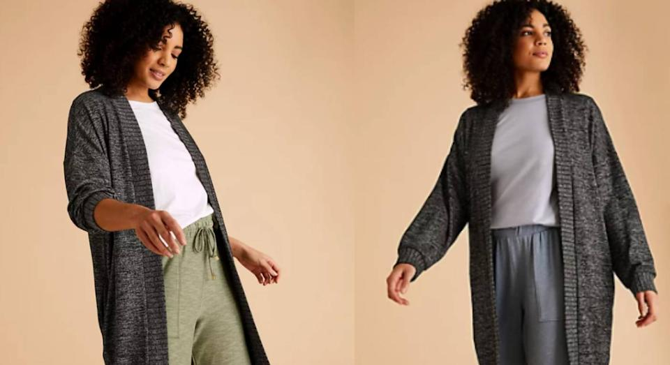 M&S' new cosy knit cardi is perfect for spring. (M&S)