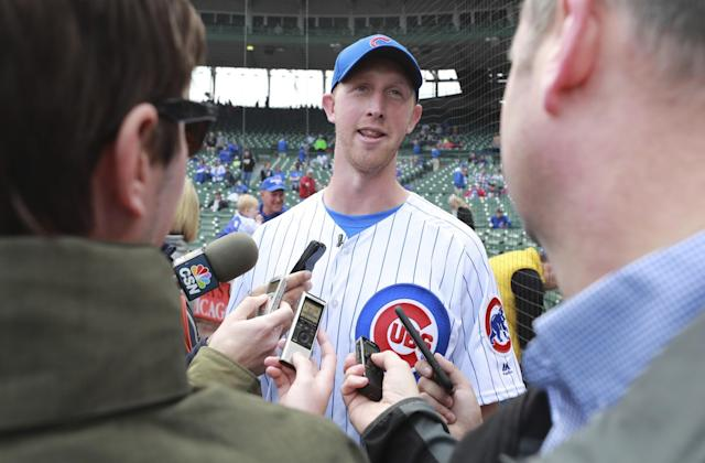 Mike Glennon watched up close when the Chicago Bears drafted his eventual replacement. (AP)