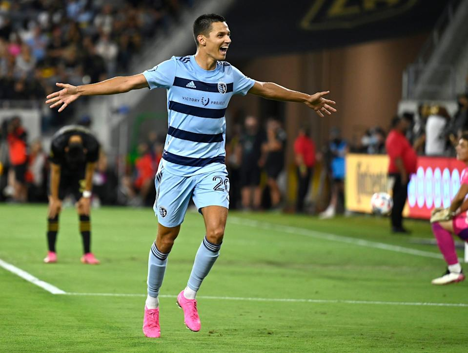 Daniel Salloi has scored 12 goals so far this season, second only to Seattle Raul Ruidiaz (14) in the MLS Golden Boot race.