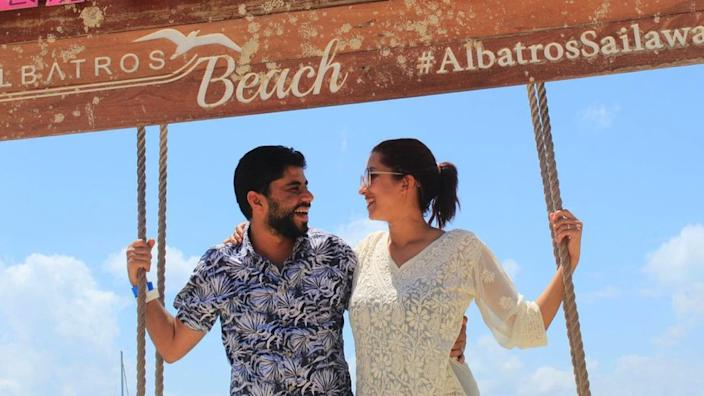 Khaled and Peri started their honeymoon in Mexico in March