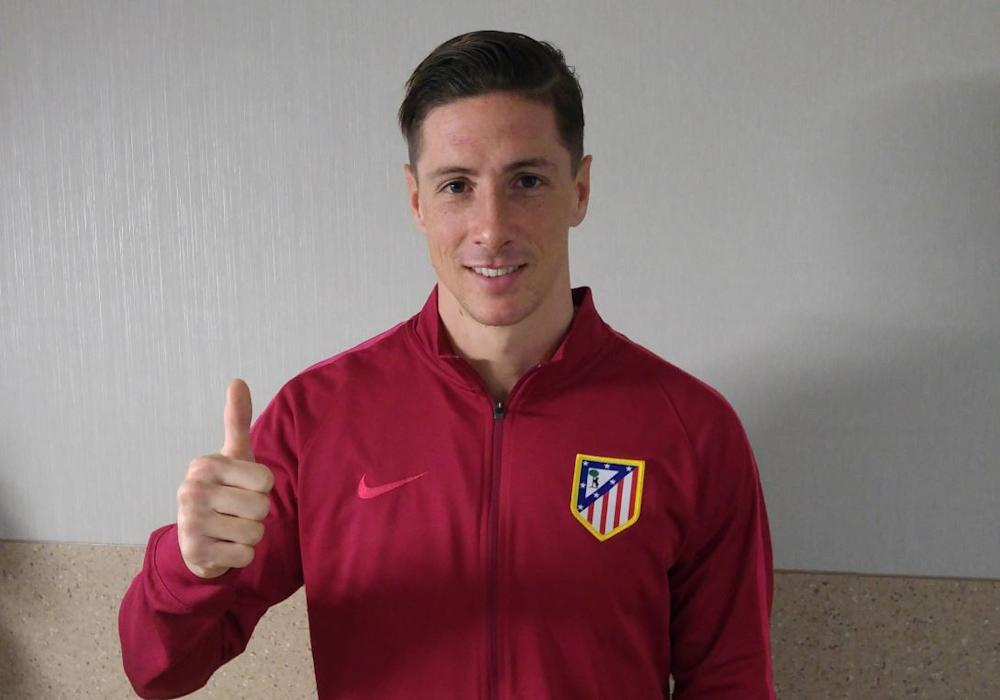 NO GALLERY Fernando Torres after Hospital 03032017