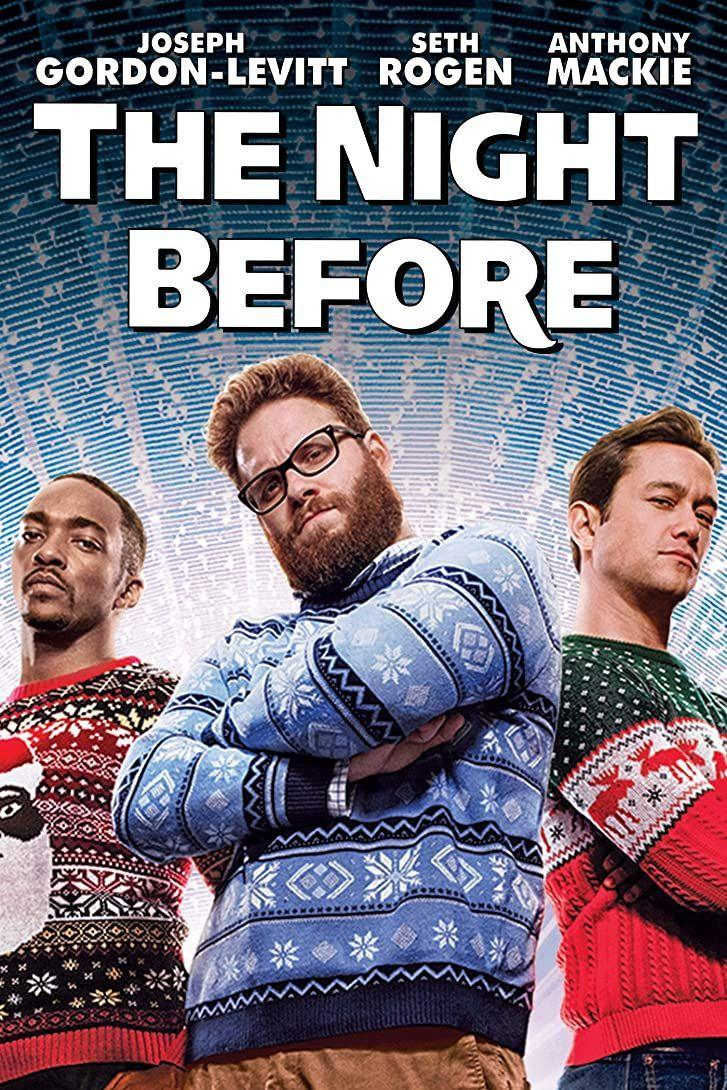"""<p>Once the kids go to bed, turn on this rated-R Christmas comedy about three best friends (Anthony Mackie, Seth Rogen and Joseph Gordon-Levitt) who are on the hunt for the ultimate holiday party — the """"Nutcracker Ball."""" The movie even turned one of our favorites on this list into a <em>verb</em>. <strong>Hint:</strong> Kevin!</p><p><a class=""""link rapid-noclick-resp"""" href=""""https://www.amazon.com/Night-Before-Joseph-Gordon-Levitt/dp/B018AEXT82/?tag=syn-yahoo-20&ascsubtag=%5Bartid%7C10055.g.1315%5Bsrc%7Cyahoo-us"""" rel=""""nofollow noopener"""" target=""""_blank"""" data-ylk=""""slk:WATCH NOW"""">WATCH NOW</a> </p>"""