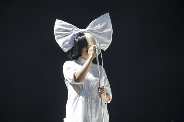 Singer Sia has announced she is now a grandmother. (AP)