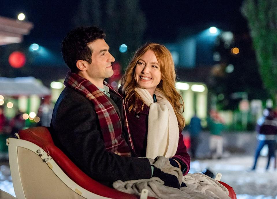 "<h1 class=""title"">TCDMIIN EC003</h1> <div class=""caption""> <em>The Mistletoe Inn</em> starring David Alpay and Alicia Witt </div> <cite class=""credit"">Kailey Schwerman</cite>"