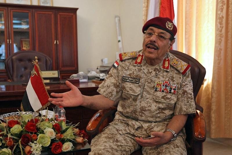 President Abedrabbo Mansour Hadi's decision to appoint Saudi-based General Ali Mohsen al-Ahmar, seen here, a northerner known for his close ties to Sunni Islamists, was published on the government's official sabanew.net website