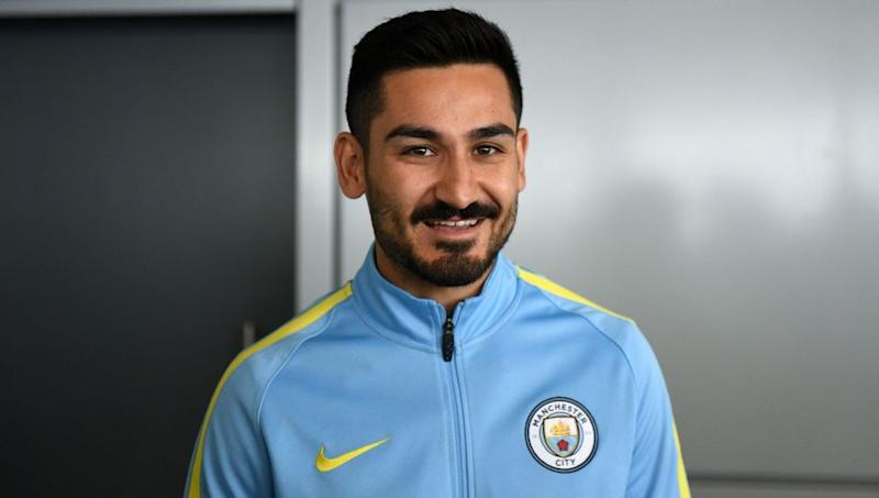 super popular e54f1 b7951 Manchester City Confirm the Shirt Number New Signing Ilkay ...