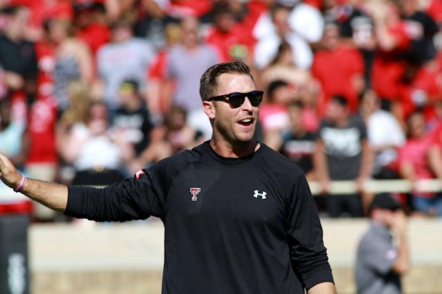 Kliff Kingsbury says Texas Tech was 'embarrassed' after narrow win Saturday