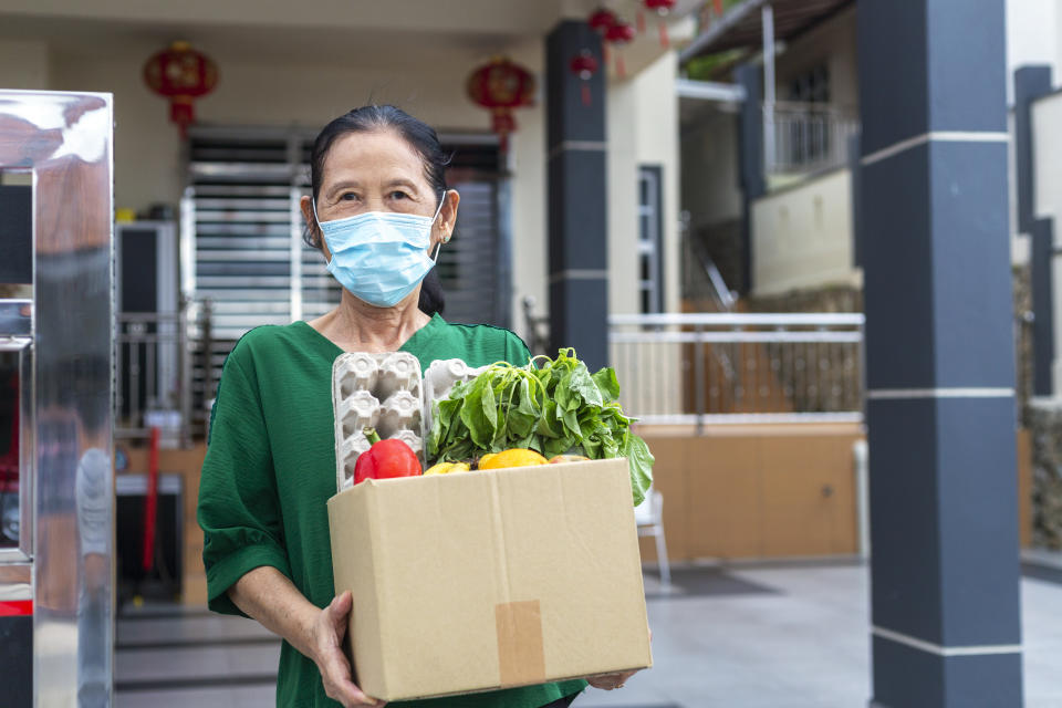 Food insecurity compounds the financial stress on the millions of older adults 50 and older already struggling prior to the pandemic and has only increased, found a study from AARP. (Photo: Getty)