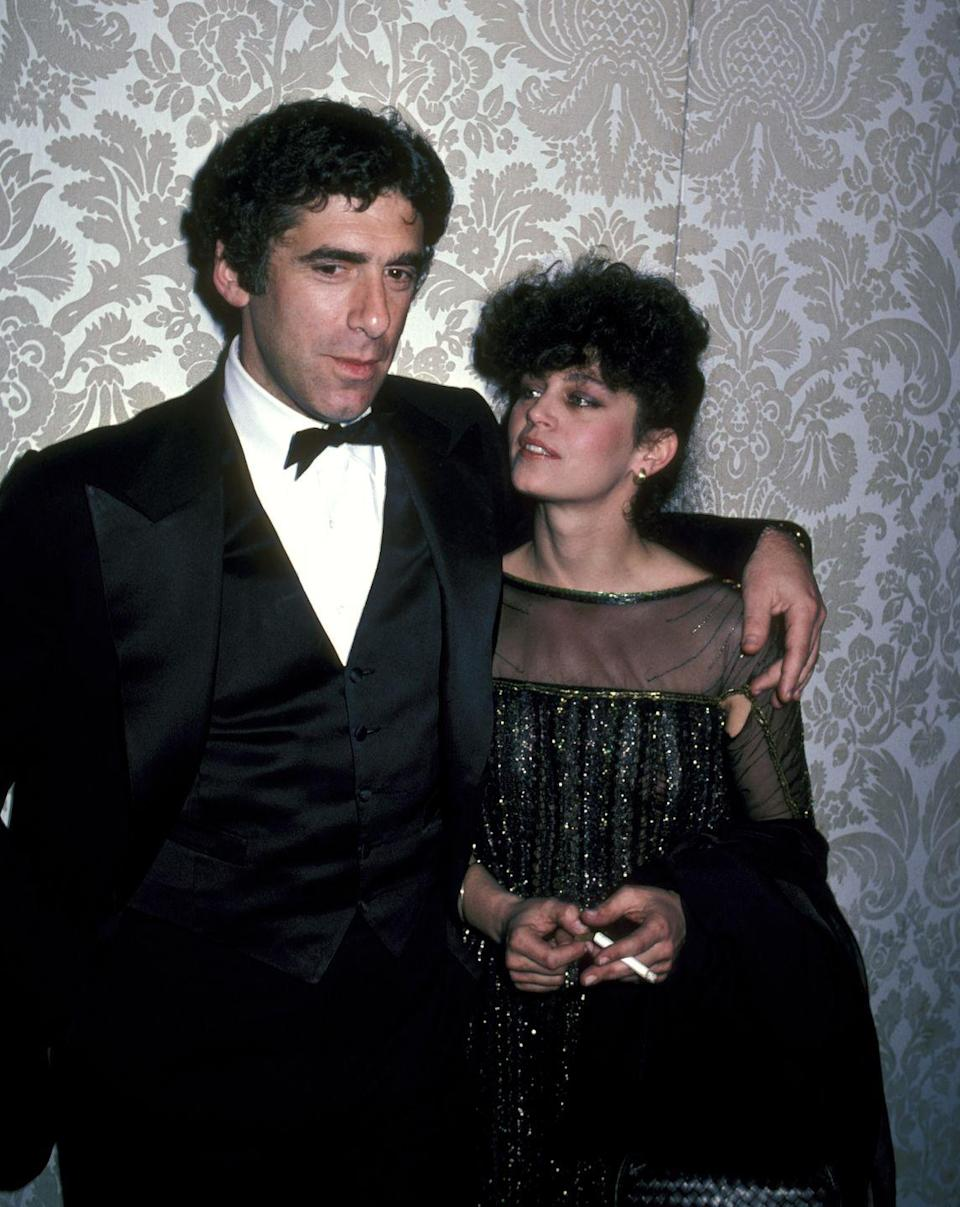 """<p>Elliott Gould and Jennifer Bogart met when she was just 18 years old and dated for four years before tying the knot in 1973. Two years later they divorced, and three years after <em>that</em> they remarried in 1978. Their second union lasted for more than 10 years, but ultimately they divorced again in 1989. Elliott has not remarried since his marriage to Jennifer and told <em><a href=""""https://www.theguardian.com/film/2020/apr/20/elliott-gould-mash-the-long-goodbye-friends-streisand-elvis"""" rel=""""nofollow noopener"""" target=""""_blank"""" data-ylk=""""slk:The Guardian"""" class=""""link rapid-noclick-resp"""">The Guardian</a></em> that he """"will be married to Jenny forever—until she can do better<em>.</em>""""</p>"""