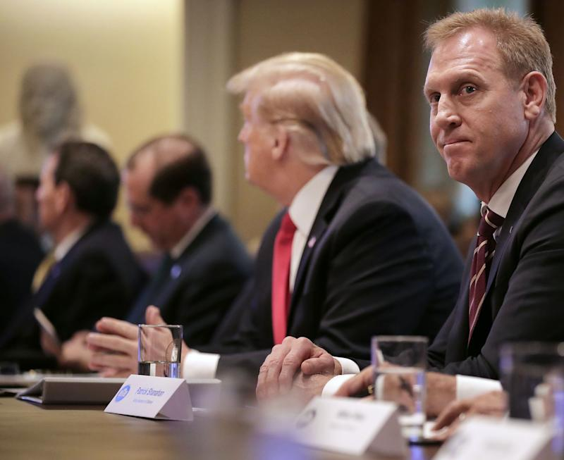 Acting Defense Secretary Patrick Shanahan attends a Cabinet meeting with U.S. President Donald Trump at the White House January 02, 2019 in Washington, DC. (Photo: Chip Somodevilla/Getty Images)