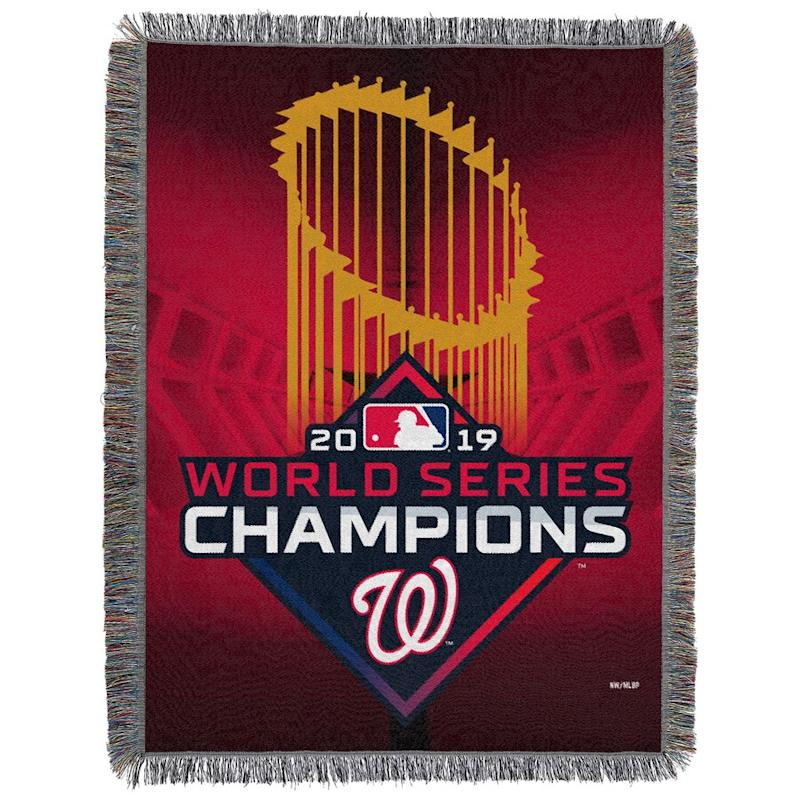 Nationals 2019 World Series Champions Tapestry Throw