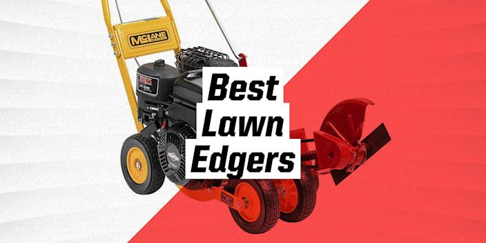 """<p>A lawn edger is a great machine to give a lawn a polished look by cutting a deep notch where the grass meets a sidewalk, driveway, curb, or patio. Many people use a string trimmer to cut this notch, and with experience they get great results. But the straightest, cleanest, deepest notch is cut with a lawn edger, a machine that spins a vertical metal blade. For the ultimate notch where the lawn and pavement meet, only an edger will do. But there's a lot to consider in selecting the right machine for the job. </p><h3 class=""""body-h3"""">Types of Edgers</h3><p>1) <strong>Stick Type:</strong> Consists of a gas engine or motor power head, shaft, and cutter.<br>2) <strong>Accessory Stick Type:</strong> Consists of a shaft and cutter head that mounts to a power head designed to accept accessories. For example, the most typical stick-type accessory is a string trimmer. A user would dismount the string trimmer and mount the edger attachment in its place.<br>3) <strong>Walk Behind:</strong> A gas engine or electric motor machine that rides on one or three wheels.</p><h3 class=""""body-h3"""">Pros and Cons of Each</h3><p><strong>Stick-type edgers</strong> are light and easy to store but take some time to learn how to steer so that you get the desired straight, clean notch. <strong>Accessory edgers</strong> are the least expensive and take up the least amount of space, but you may experience added vibration with these since they must couple up to the driveshaft coming off the main power head. <strong>Walk-behind edgers</strong> provide the straightest and cleanest cut, but they are the most expensive and will take up the most space in your garage or storage shed.</p><h3 class=""""body-h3"""">Safety Warnings</h3><p>Edgers are like saws; as their blade spins, they kick up dirt and small rocks. Occasionally, they can be jammed by a small stone that slips between the blade and its housing. You need to wear safety glasses using these, and many users find that they are better off wearing long pan"""