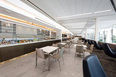 New United Club at LaGuardia Airport within the new Terminal B concourse