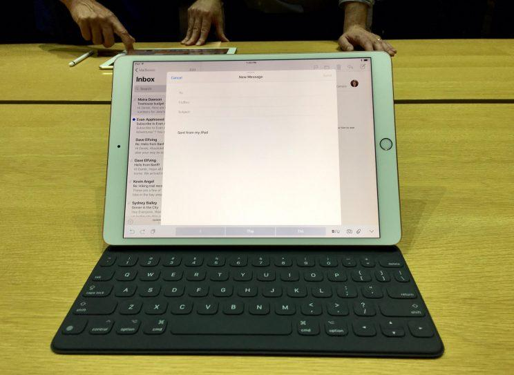 iPad Pro full keyboard