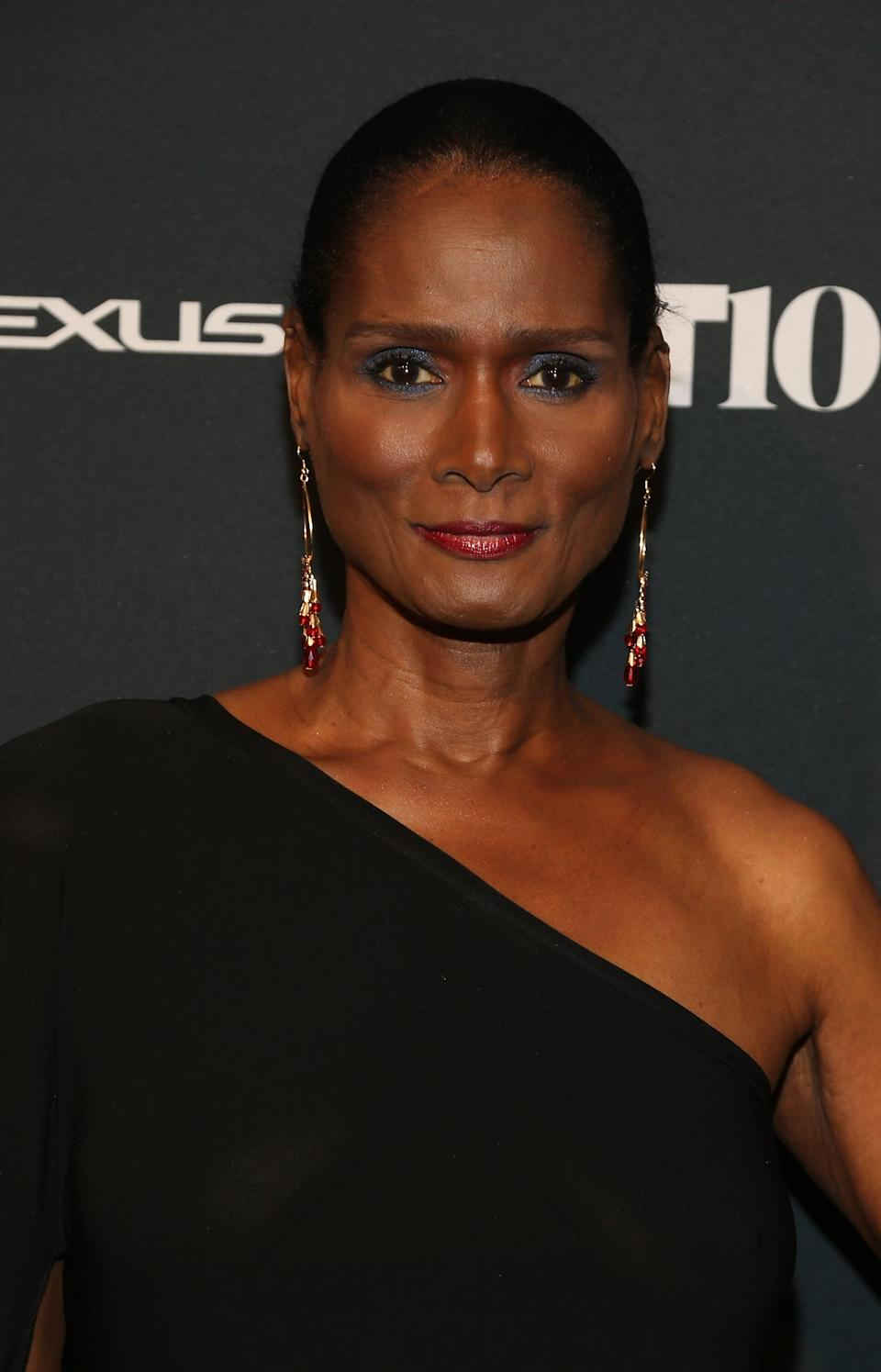 "<p>Tracey Norman was the first Black transgender woman to model. At the start of her career, she didn't disclose her identity and was able to work with publications such as <strong>Essence</strong>, <strong>Vogue Italia</strong>, and <strong>Harper's Bazaar India</strong>. In 1975, she appeared on the box of Clairol's Born Beautiful Hair Colour No.512. The shade was one of Clairol's best sellers at the time. In 1980, the truth about her birth gender was discovered by a hairdresser while on a photoshoot. The hairdresser publicly outed her and as a result, companies refused to work with her. After years struggling to find work, Norman became an active figure in the drag ball community.</p> <p>In 2015, Norman became the subject of a biographical piece <a href=""https://www.thecut.com/2015/12/tracey-africa-transgender-model-c-v-r.html"" class=""link rapid-noclick-resp"" rel=""nofollow noopener"" target=""_blank"" data-ylk=""slk:written by digital fashion site The Cut"">written by digital fashion site <strong>The Cut</strong></a>. The following year, Clairol signed her up as the face of their 'Nice 'n Easy Color As Real As You Are' campaign. Norman later became one of two openly transgender models to appear on the cover of <strong>Harpers Bazaar</strong>.</p> <p>Although her true status remained undetected for some time, it took a lot of courage for Norman to enter the world of modeling, especially at a time when transgender people weren't accepted in society. As attitudes towards the LGBT community have now thankfully changed, the revitalization of Norman's career was well overdue.</p>"