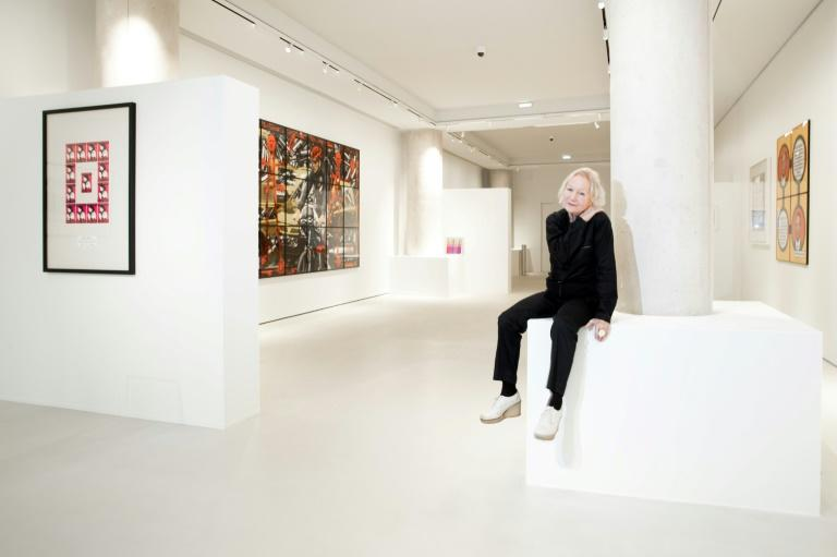 Fab: Agnes Trouble, the fashion designer known as Agnes b., in her new gallery in Paris