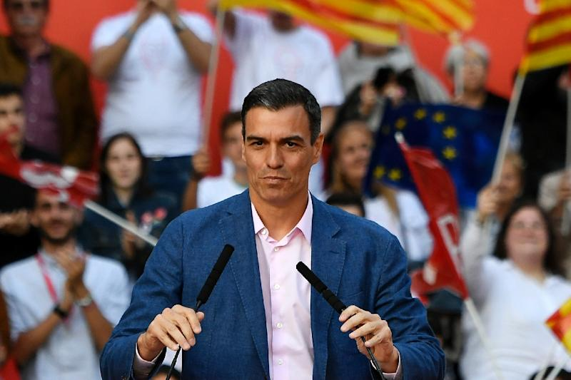 Prime Minister Pedro Sanchez was the big winner of European elections in Spain on Sunday