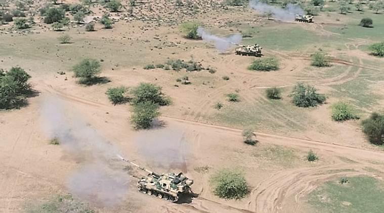 Desert exercise: Testing ground for capabilities, message for adversaries