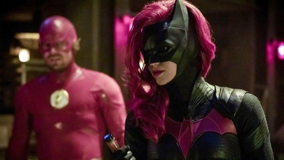 Ruby Rose as Batwoman in The CW's Arrowverse 2018 crossover episode