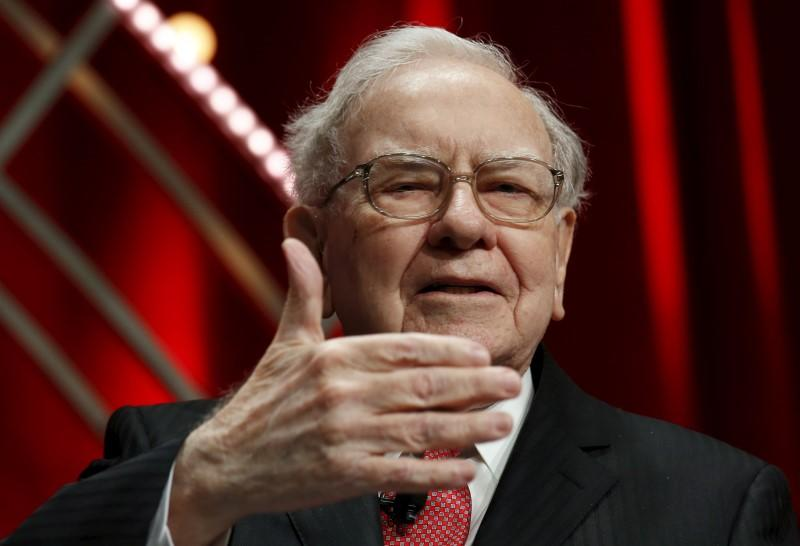 Warren Buffett speaks at Fortune's Most Powerful Women Summit in Washington