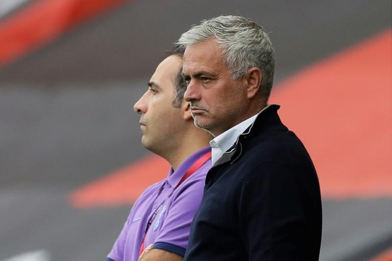 Not much to smile about: Tottenham appear to be going backwards under Jose Mourinho