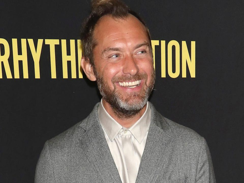 Jude Law in January 2020.