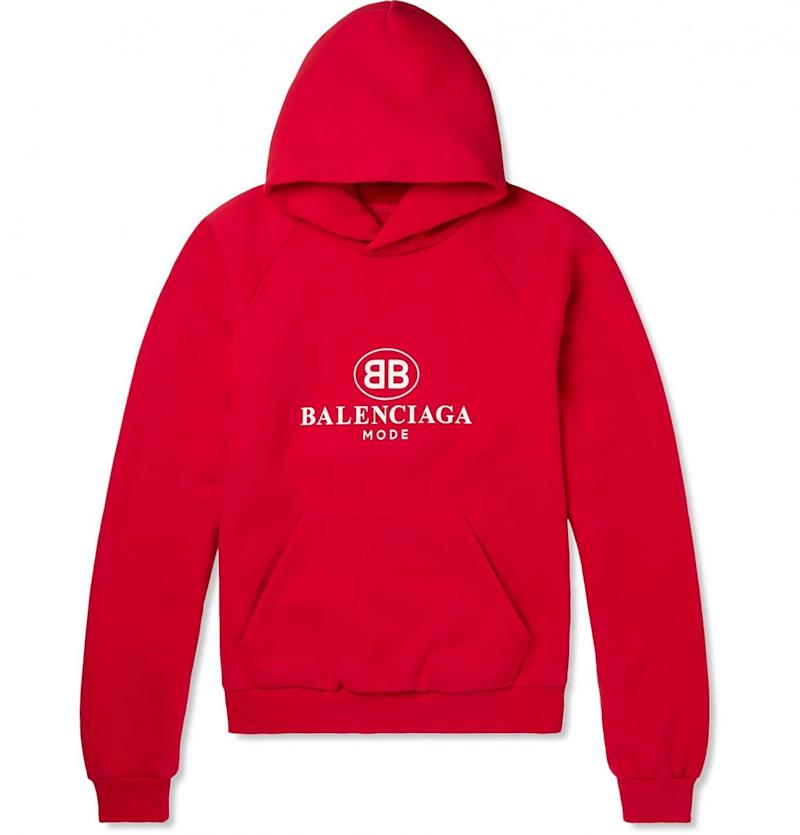 One of the 'BB Mode' logo items from the Mr Porter collection