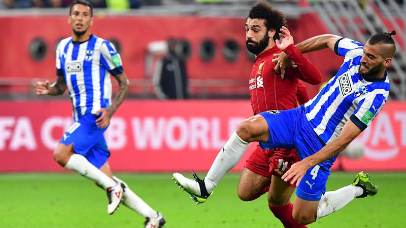 Referee didn't protect Liverpool from 'very aggressive' Monterrey - Salah