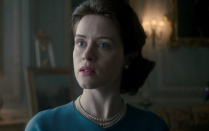 "<p><em>The Crown</em> explores Queen Elizabeth II's life from the 1940s onward, chronicling her early reign. In <a href=""https://www.townandcountrymag.com/leisure/arts-and-culture/a12779152/the-crown-season-3/"" rel=""nofollow noopener"" target=""_blank"" data-ylk=""slk:season 3"" class=""link rapid-noclick-resp"">season 3</a>, Olivia Colman will replace Claire Foy as England's monarch, as the entire cast turns over, but until then, seasons 1 and 2 make for perfect binge-watching.</p><p><strong>How to Watch:</strong><em> The Crown</em> is available to watch on <a href=""https://www.netflix.com/title/80025678"" rel=""nofollow noopener"" target=""_blank"" data-ylk=""slk:Netflix"" class=""link rapid-noclick-resp"">Netflix</a>.</p><p><strong>More</strong>: <a href=""https://www.townandcountrymag.com/leisure/arts-and-culture/g14473587/shows-like-the-crown/"" rel=""nofollow noopener"" target=""_blank"" data-ylk=""slk:12 Shows You Should Watch After Finishing The Crown"" class=""link rapid-noclick-resp"">12 Shows You Should Watch After Finishing <em>The Crown</em></a><br></p>"