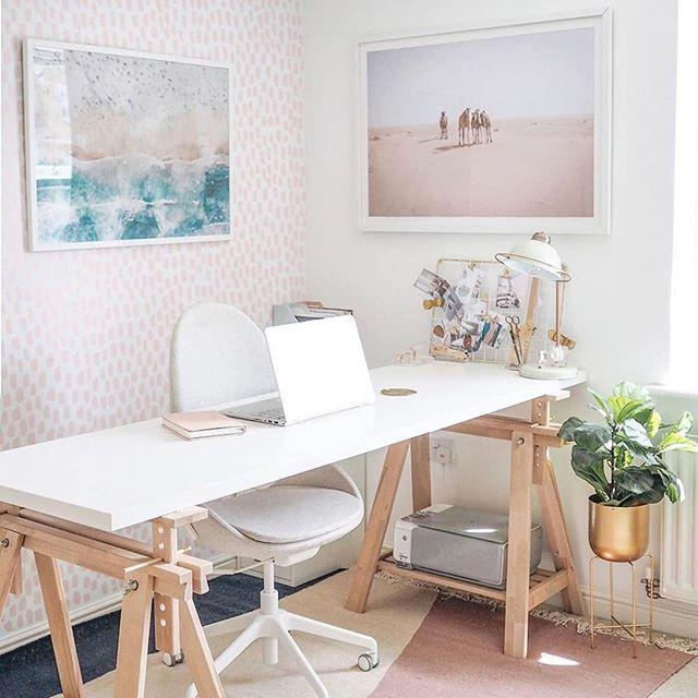"""<p>'Adhesive wallpaper is a growing trend as people look to creating new spaces, including home offices, within their home,' says Alex Willcocks, owner of Burbeck Interiors. 'Adhesive wallpaper is perfect for people looking to refresh a space on a temporary basis, or who want to explore new colours and patterns for their rooms.'</p><p>Whether you're making a statement wall or bringing life to an otherwise dull room, a great benefit of temporary wallpaper is that you can easily change it when you get bored.</p><p>Alex adds: 'My advice – choose lighter colours, and subtle patterns, especially for your working space, or for a smaller room. Harsher colours may become distracting or make a small room feel even smaller.' </p><p>Try <a href=""""https://go.redirectingat.com?id=127X1599956&url=https%3A%2F%2Fwww.wayfair.co.uk%2Fhome-decor%2Fsb1%2Fself-adhesive-wallpaper-c1858136-a85980%7E302555.html&sref=https%3A%2F%2Fwww.redonline.co.uk%2Finteriors%2Feasy-to-steal-ideas%2Fg32808108%2Fluxury-home-decor%2F"""" target=""""_blank"""">Wayfair</a> or <a href=""""https://go.redirectingat.com?id=127X1599956&url=https%3A%2F%2Fwww.grahambrown.com%2Fus%2Fwallpaper%2Fcollection%2Fremovable%2F&sref=https%3A%2F%2Fwww.redonline.co.uk%2Finteriors%2Feasy-to-steal-ideas%2Fg32808108%2Fluxury-home-decor%2F"""" target=""""_blank"""">Graham & Brown</a> for removable wallpaper.</p><p><a href=""""https://www.instagram.com/p/CAQnyGyIG3A/?utm_source=ig_embed&utm_campaign=loading"""">See the original post on Instagram</a></p>"""