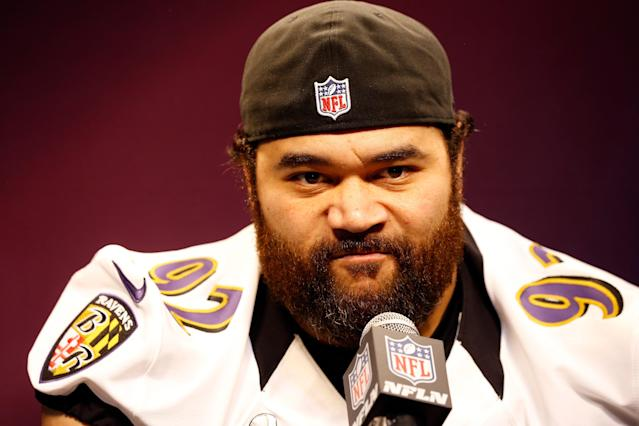 Ravens defensive tackle Haloti Ngata