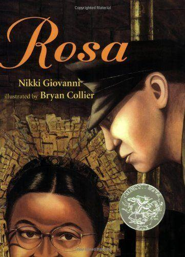 "With this book, kids can learn about <a href=""http://www.rosaparks.org/biography/"" target=""_blank"">Rosa Parks</a>' bravery and resilience as she refused to give up her bus seat in Alabama, playing an important role in&nbsp;the civil rights movement. (By Nikki Giovanni, illustrated by Bryan Collier)"