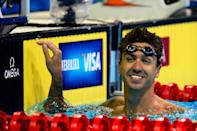 """U.S. freestyle swimmer <a href=""""http://yhoo.it/NhxiaF"""" rel=""""nofollow noopener"""" target=""""_blank"""" data-ylk=""""slk:Anthony Ervin"""" class=""""link rapid-noclick-resp"""">Anthony Ervin</a> has African American, American Indian and Jewish heritage. (Photo by Jamie Squire/Getty Images)"""