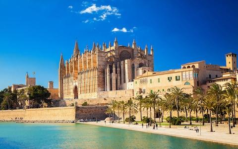 The Cathedral of Santa Maria in Palma de Mallorca - Credit: iStock