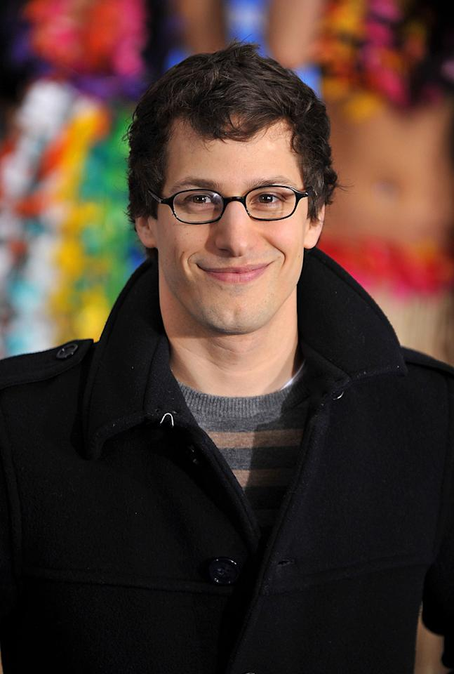 "<a href=""http://movies.yahoo.com/movie/contributor/1804357581"">Andy Samberg</a> attends the Los Angeles premiere of <a href=""http://movies.yahoo.com/movie/1810150358/info"">Just Go With It</a> on February 8, 2011."