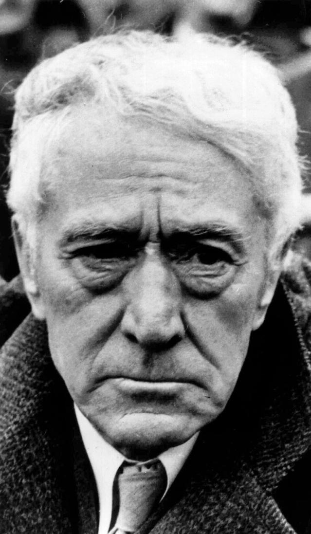 "FILE - In this 1938 file photo, Kenesaw Mountain Landis, baseball's first commissioner, is shown at age 78. The legacy of Landis is ""always a complicated story"" that includes ""documented racism,"" official MLB historian John Thorn said. (AP Photo/File)"
