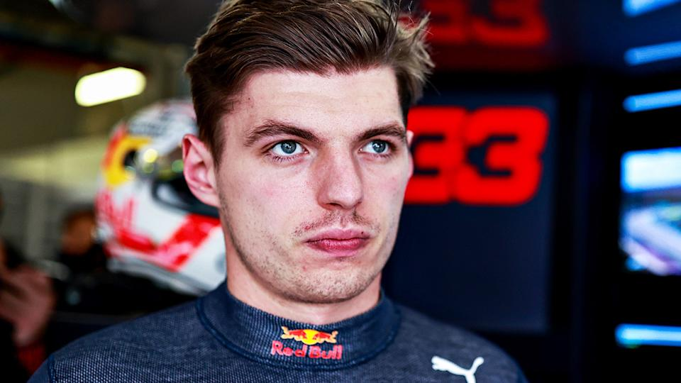Max Verstappen was frustrated with the Red Bull's inability to fight off the Mercedes of Lewis Hamilton at the Portuguese Grand Prix. (Photo by Mark Thompson/Getty Images)