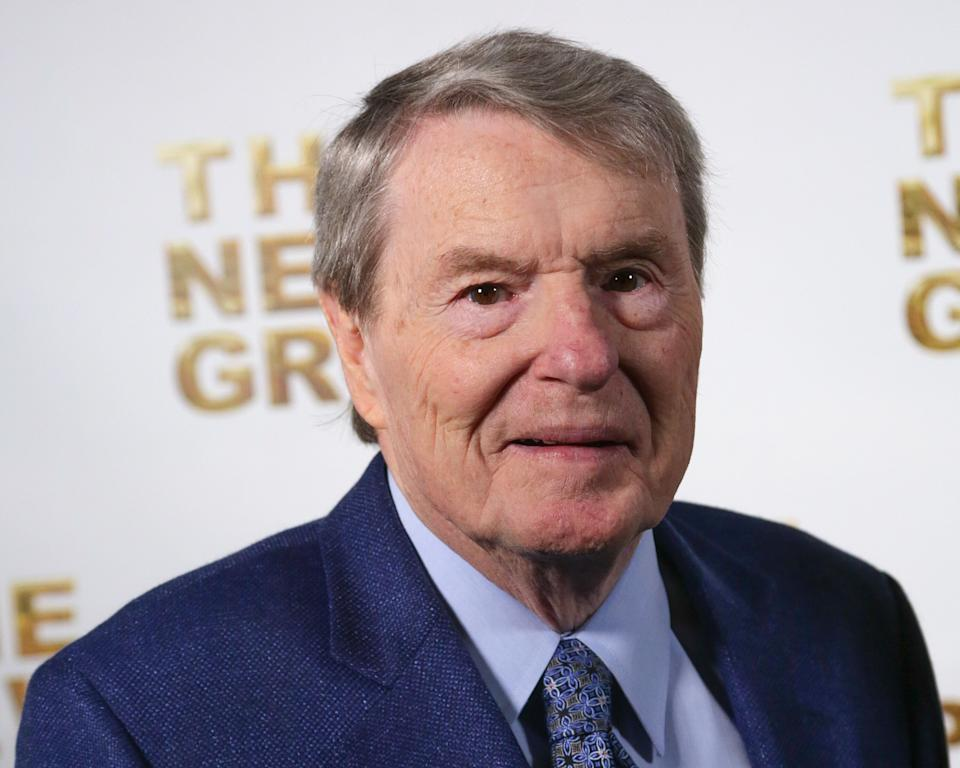 """Journalist Jim Lehrer, the co-founder and longtime anchor of """"PBS NewsHour,"""" died on January 23, 2020. He was 85."""