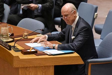UN Syria envoy to meet Russian on Monday; US not taking part