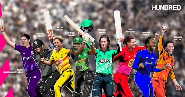 There are eight new marquee signings in the women's Hundred (ECB handout/PA)