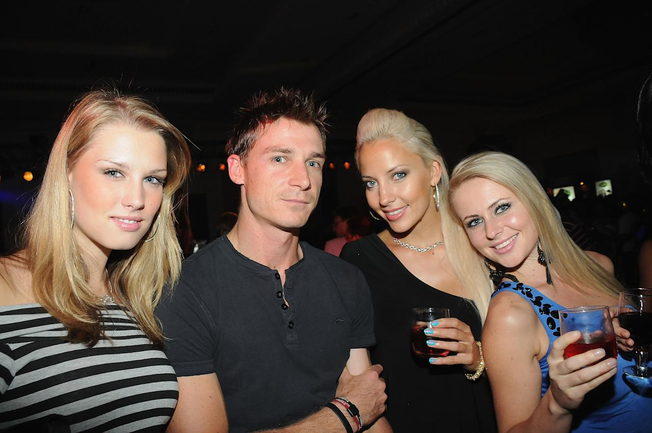 BANGALORE, INDIA - MARCH 18: Dale Steyn at the IPL Nights after party following the 2010 DLF Indian Premier League T20 group stage match between the Royal Challengers Bangalore and Rajasthan Royals at the ITC Gardenia on March 18, 2010 in Bangalore, India.  (Photo by Yogen Shah-IPL 2010/IPL via Getty Images)