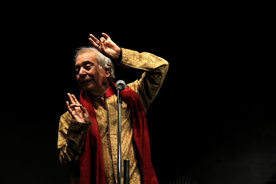 An exponent of the Kathak dance form, Birju Maharaj was born into a well-known dancing family and began performing as a child alongside his father. He became a dance teacher at the age of 13 and had won the coveted Sangeet Natak Akademi Award by the time he was 28. He has been instrumental in catapulting the kathak dance-form to the forefront of national and international culture.